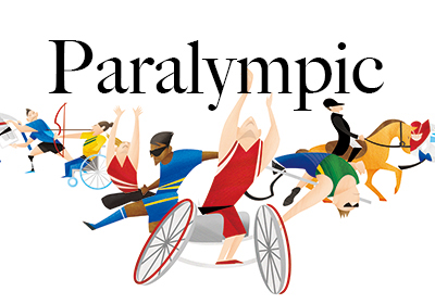 Illustration Works Of 2020 Tokyo Paralympic Magagine Vol.1