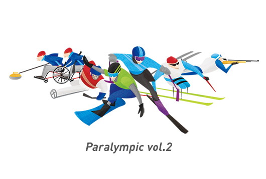 Illustration Works Of 2020 Tokyo Paralympic Magagine