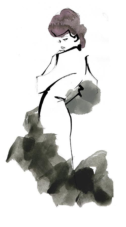 FASHION ILLUSTRATION – Long Dress