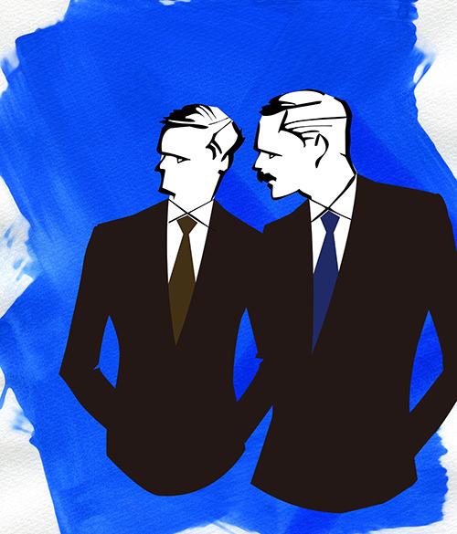 MEN'S FASHION ILLUSTRATION -mens Suits