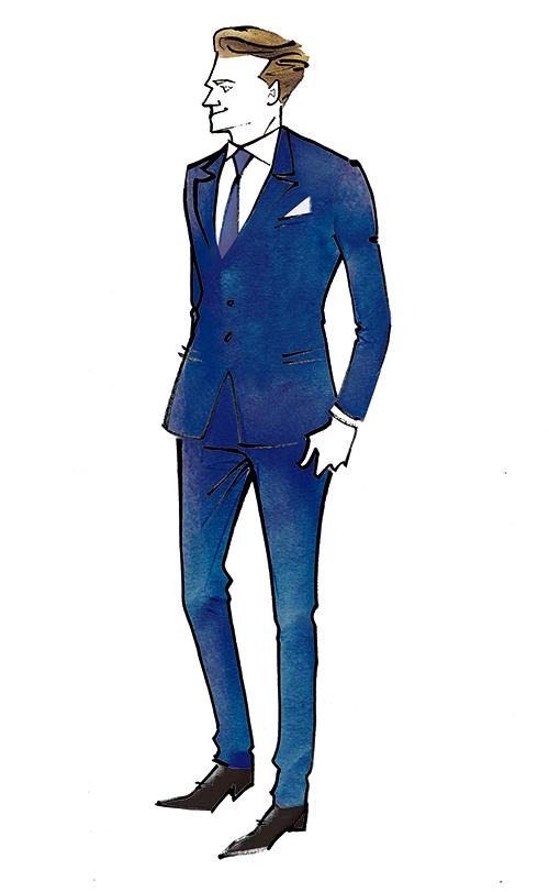 Illustration For Mens Fashion Magazine