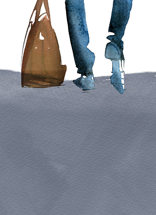 MEN'S FASHION ILLUSTRATION -Shoes & Bag