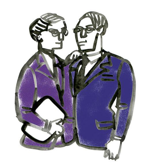 MEN'S FASHION ILLUSTRATION -suit