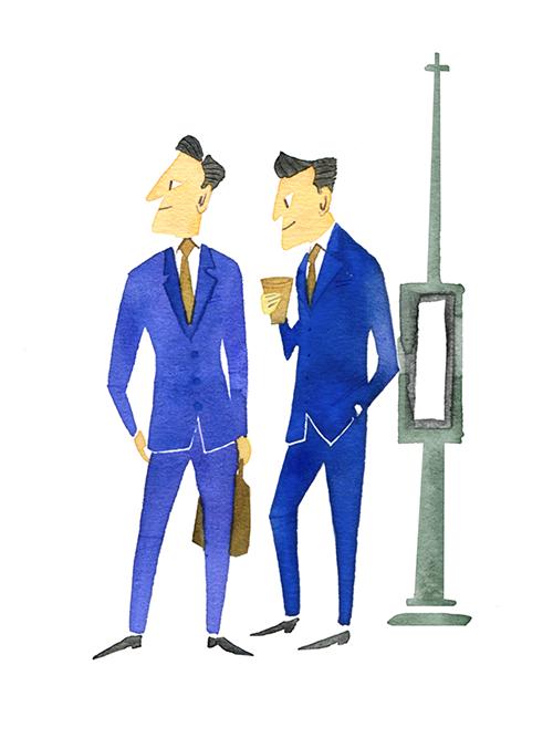 MEN'S FASHION ILLUSTRATION Styles-casual & Pop
