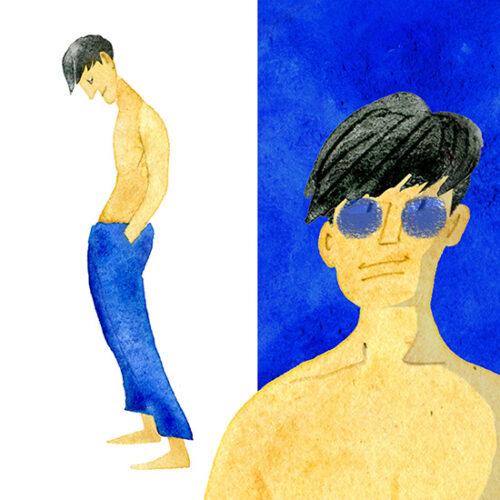 MEN'S FASHION ILLUSTRATION Styles-sweat Bottoms