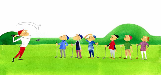 Illustration Of Golf