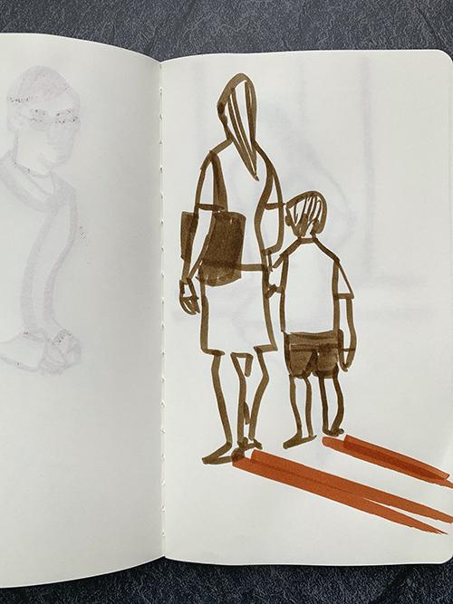 Drawing Skech By Kazueshima