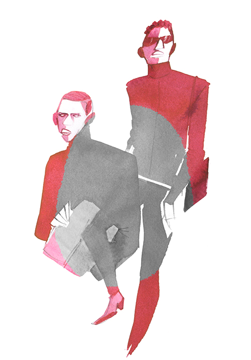Fashion Illustration Kazue Shima Blog 20211002